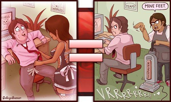 porno vs réalité