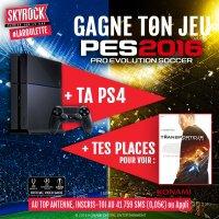 PES 2016 + TA PS4 ET DES PLACES DE CINE