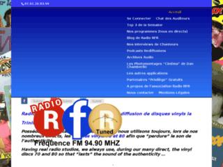 Radio RFR Fréquence Rétro La radio avec diffusion de disques vinyls 70 et 80