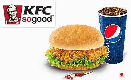 KFC deal, KFC Block Buster Combo, PVR, Restaurants, Fast food in Pune, Mumbai - mydala kfc-block-buster-combo