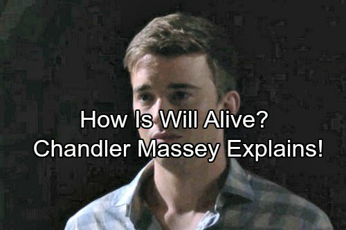 Days of Our Lives Spoilers: Chandler Massey Explains How Will Is Alive After Ben Killed Him | Celeb Dirty Laundry