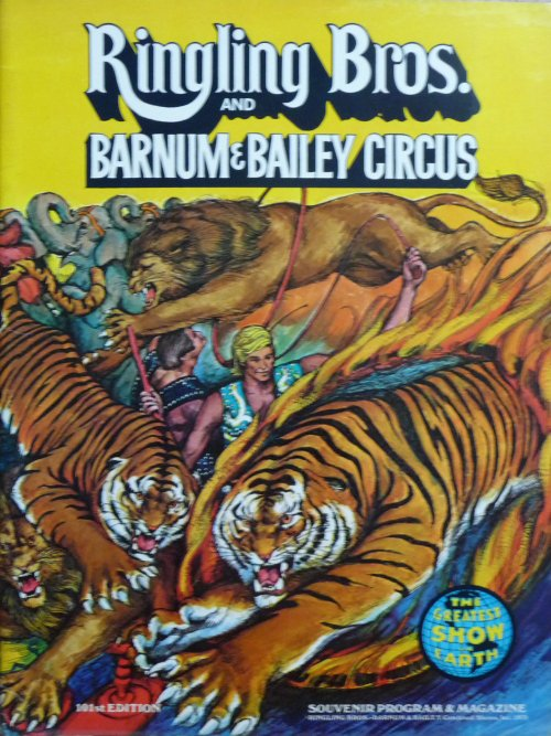 A vendre / On sale / Zu verkaufen / En venta / для продажи :  Programme RINGLING BROS AND BARNUM & BAILEY CIRCUS 101st Edition 1971