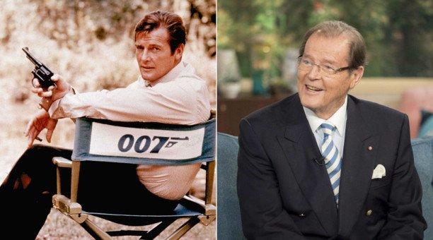 Roger Moore, ancien agent 007, est décédé