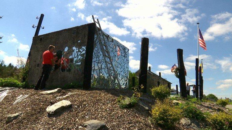 Bihain. Le fortin de la deuxième guerre mondiale devient un monument du souvenir exceptionnel