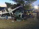 Un mort et une vingtaine de blessés dans un grave accident de bus en Espagne