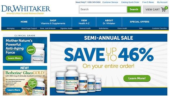 Dr Julian Whitaker Coupon Code - DrWhitaker.com SALE