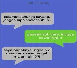 Berita Indonesia Terbaru: 20 SMS lucu buat gebetan yang akan buat kamu ngakak!