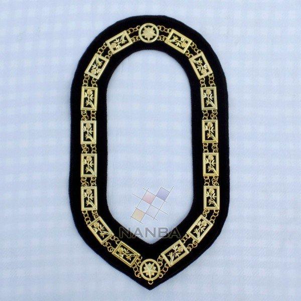 Rose Croix Regalia Chain Collar