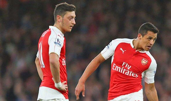 Arsenal Semakin Tidak Jelas Mengenai Masa Depan Ozil Dan Sanchez