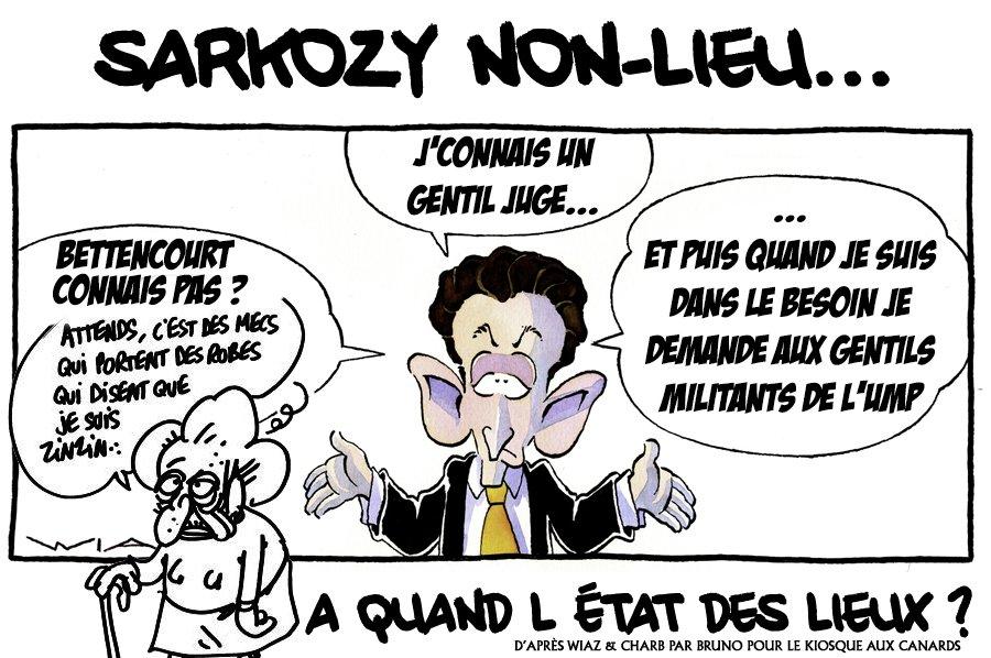 Le non-lieu Sarkozy : une ordonnance peu flatteuse
