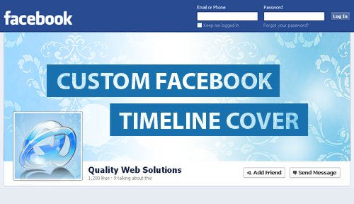 Rules For Creating Custom Facebook Timeline Cover Image -