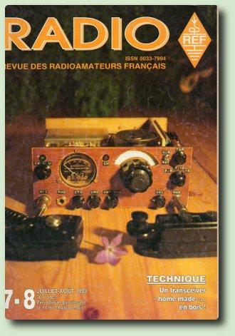 """""""LE TRANSCEIVER EN BOIS"""" de F6AWY"""