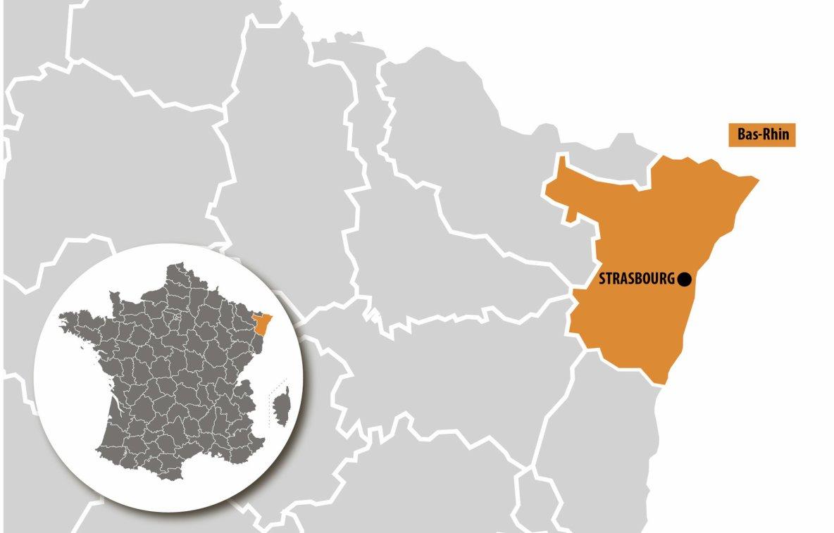 """Attaque antisémite à Strasbourg : un juif religieux poignardé par un musulman qui a crié """"Allahou Akbar""""."""