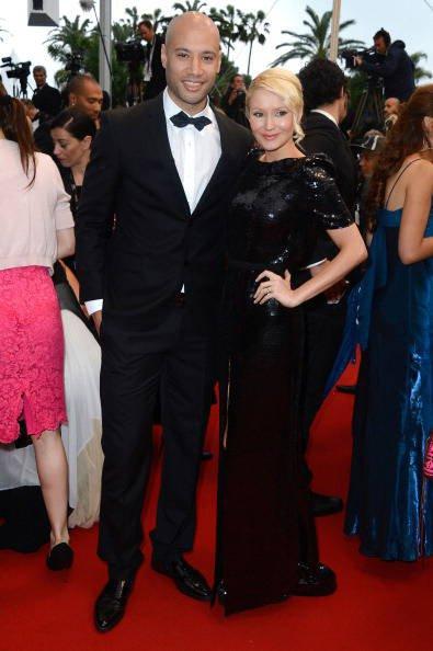 Xavier Delarue e Tatiana Laurens Delarue - I vip al Festival di Cannes 2013 - Foto Gallery Pianetadonna.it