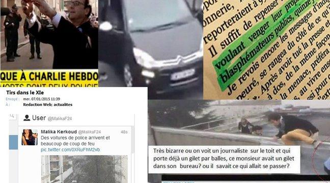 VIDEO. Attaque à «Charlie Hebdo»: Les fausses informations envahissent le web