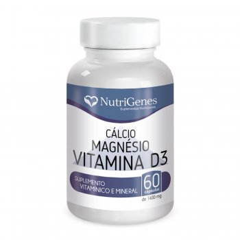 C?lcio, Magn?sio, Vitamina D3 || NutriGenes