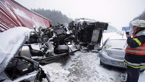 Grave accident d'autocar en Allemagne