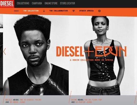 #Fashion • BALOJI wears DIESEL+EDUN • A Denim Collection born in Africa | CHRONYX.be : we like it sexy too !