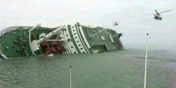 Corée du Sud: le naufrage d'un ferry fait au moins deux morts