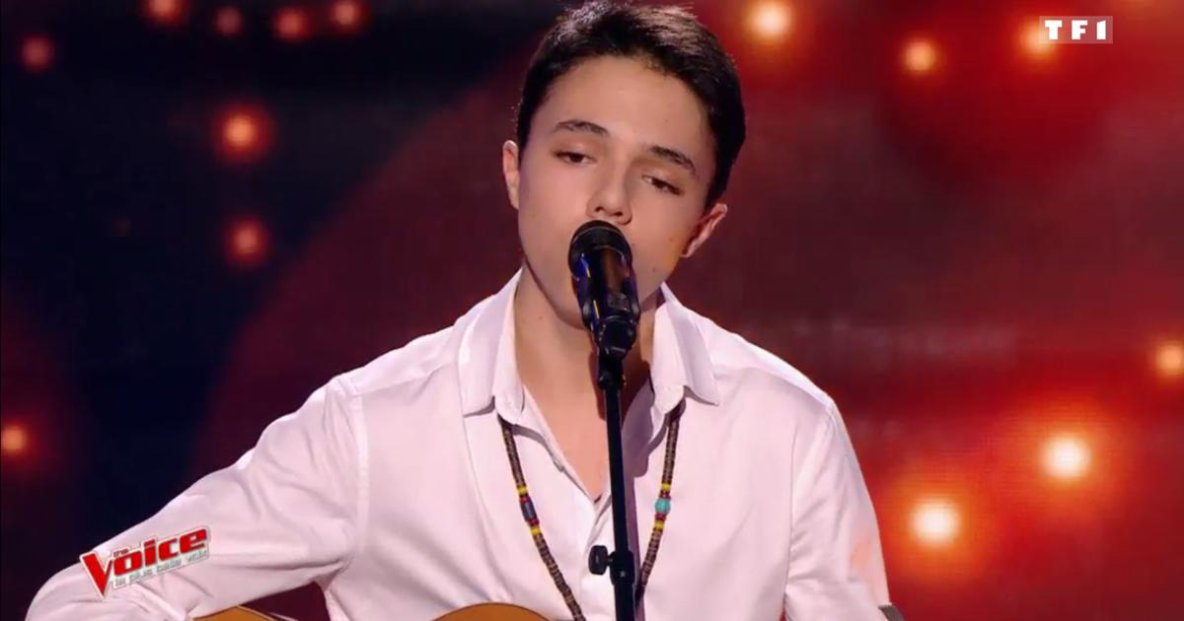 Gianni 17 ans à The Voices saison 6  8-p