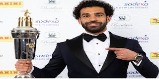 اخبارنا الآن: محمد صلاح MOHAMED SALAH افضل لاعب فى الدوورى الانجليزى 2018 اهداف وبطولات وجوائز