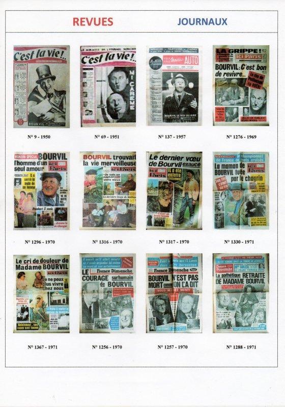 Les Revues de Presse , Journaux , Romans photos ....