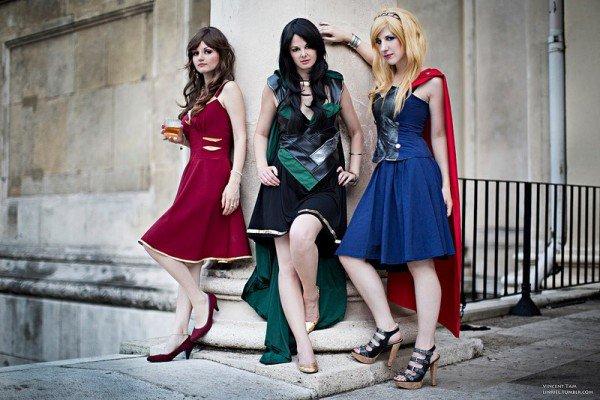 Avengers Inspired Everyday Dresses [Cosplay]