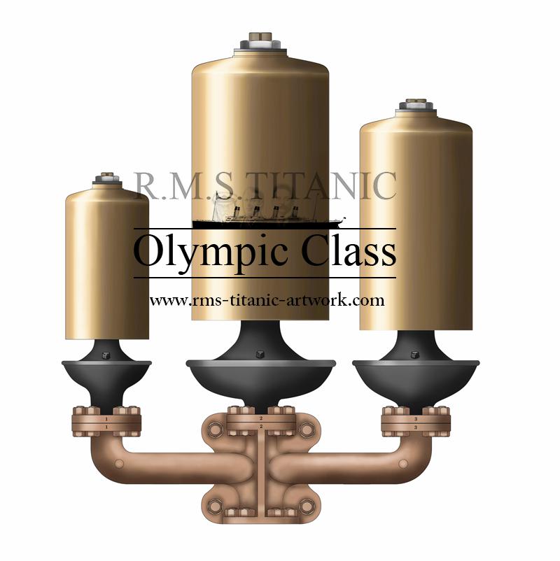 illustration des Sifflets Du S.S. TITANIC par Lionel Codus & Cyril Codus / illustration of the S.S. TITANIC whistles by Lionel Codus & Cyril Codus.