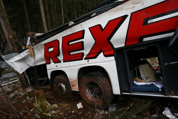 Allemagne: quatre morts et plus de 40 blessés dans un accident de car (Photos)