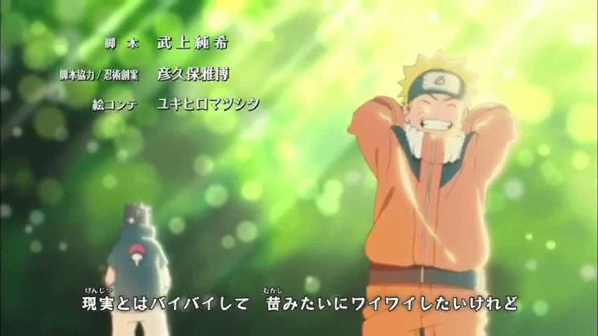 Naruto Shippuden Ending 32 - ''Spinning World''- Diana Garnet [1080p HD]