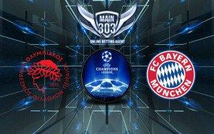Prediksi Olympiakos Piraeus vs Bayern Munchen 17 September 2015
