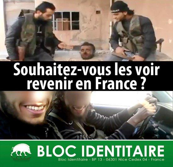 Exigeons la déchéance automatique de la nationalité française pour les djihadistes !