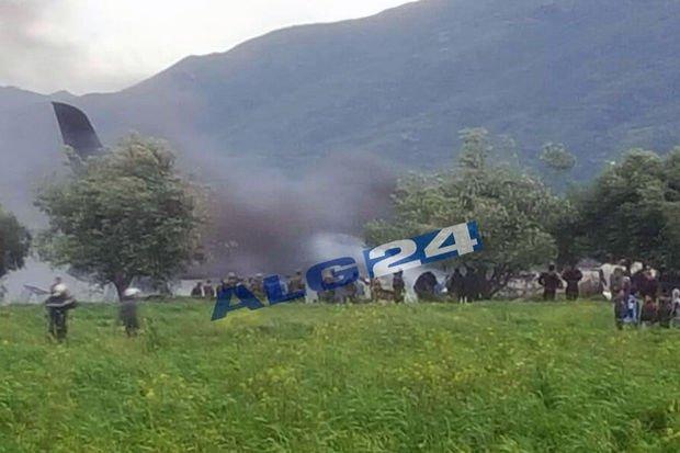 11-04-2018 - Algérie - Accident d'avion 257 morts dans le crash d'un avion militaire, L'avion à destination de Béchar s'est écrasé quelques minutes après son décollage