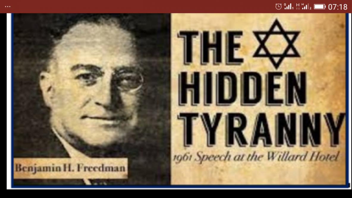 Le danger mondial que représentent les juifs sionistes