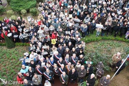 Les rassemblements en hommage à Charlie Hebdo en Eure-et-Loir
