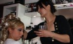 Maquillage et coiffure libanais