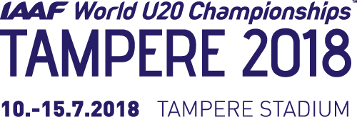 IAAF WORLD U20 CHAMPIONSHIPS – TAMPERE 2018
