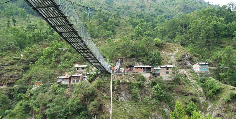 Bungee Jumping in Nepal | Nepal Bungee Jumping Package