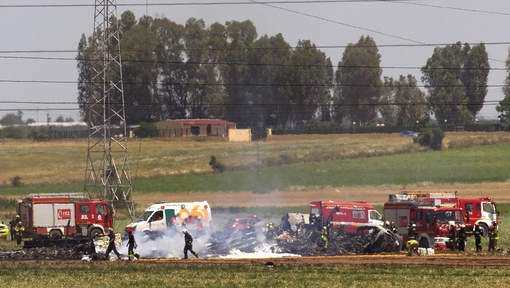 L'Airbus A400M accidenté à Séville avait trois moteurs sur quatre au ralenti