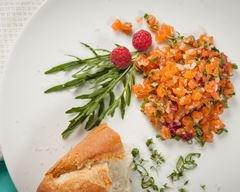 Ballotine de saumon sauce à l'oseille