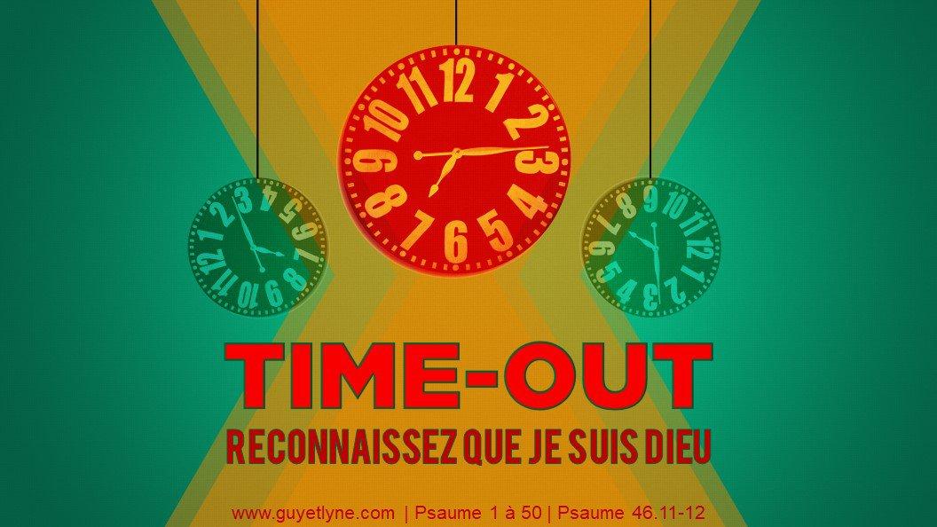 TIME-OUT les amis! — 22.04.18 | Guy et Lyne - Passion & Inspiration.(Église évangélique)