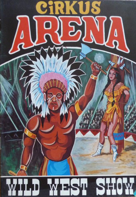 A vendre / On sale / Zu verkaufen / En venta / для продажи :  Programme cirkus ARENA 1977