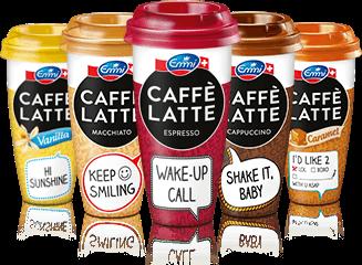 Jetzt gewinnen mit Emmi CAFFÈ LATTE!