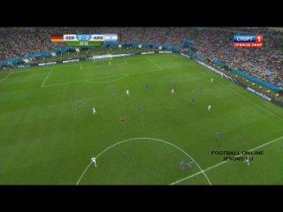 .ALLEMAGNE ARGENTINE 2014.  -  1:0 World Cup FINAL