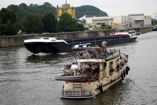 La Batellerie - les mariniers - Histoire de la Meuse wallonne