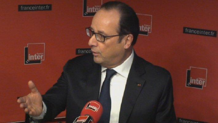 Hollande veut une taxe sur les transactions financières d'ici à 2017