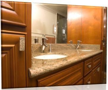 Restoring damaged granite countertops