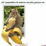 la banane ! - Blog de Agnes83