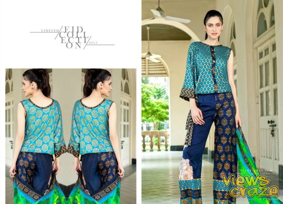 Pakistani Fashion Style: Hannah Limited Edition Eid Collection 2013 by ZS Textiles