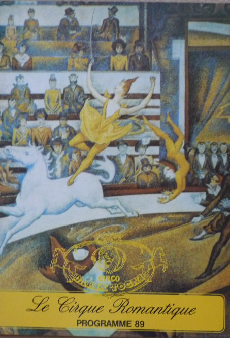 A vendre / On sale / Zu verkaufen / En venta / для продажи :  Programme cirque Il Florilegio - Darix TOGNI 1989 - 2